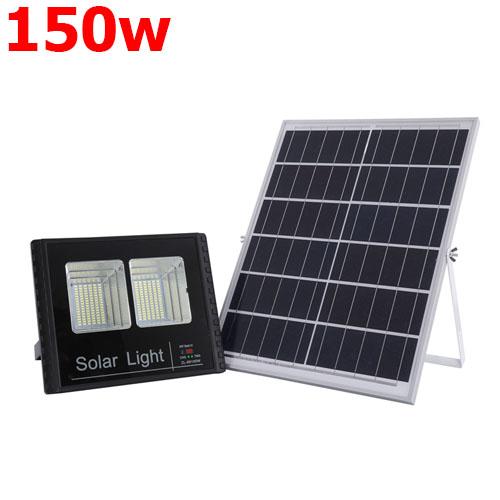 Đèn 150W- Đèn Pha năng lượng mặt trời 150W Tấm Pin rời.