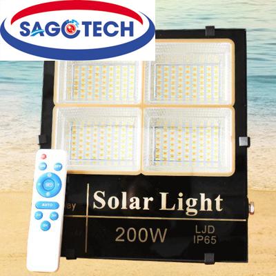 Đèn năng lượng mặt trời Solar Light LJD 200W 3 màu